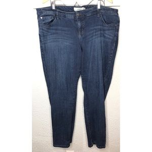 Torrid jean straight leg 22R